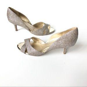 Bandolino Glitter Heels